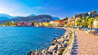 Gardasee Torbole See Seepromenade Urlaub HOFER REISEN