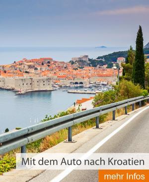 Mit dem Auto nach Kroatien