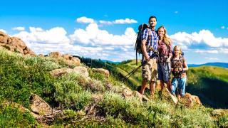 Familie Berg Wandern Sommer Urlaub Ferien HOFER REISEN
