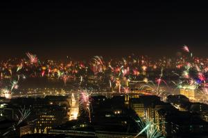 Silvester in Hamburg