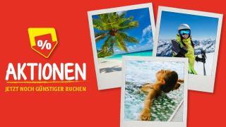 HOFER REISEN Aktionen - Jetzt noch günstiger Urlaub buchen.