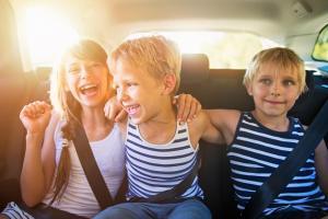 Familie Auto Urlaub
