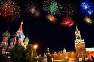 Silvester in Moskau