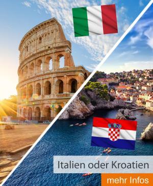 Italien oder Kroatien
