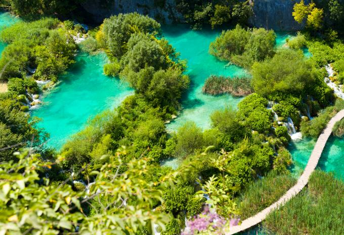 Nationalpark Plitvicer Seen Karte.Vrhovine Nationalpark Plitvicer Seen Hofer Reisen