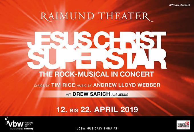 Wien Jesus Christ Superstar Musical Hofer Reisen