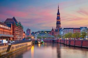 Ein Tag in Hamburg
