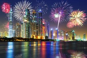 Silvester in Dubai - City-Trip & Kreuzfahrt