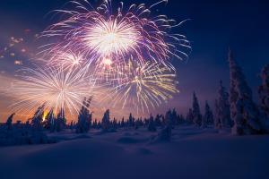 Lappland - Silvester unter dem Polarhimmel