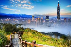 Taipeh, China & Hawaii - City-Trip & Baden