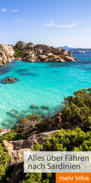 Alles über Fähren nach Sardinien