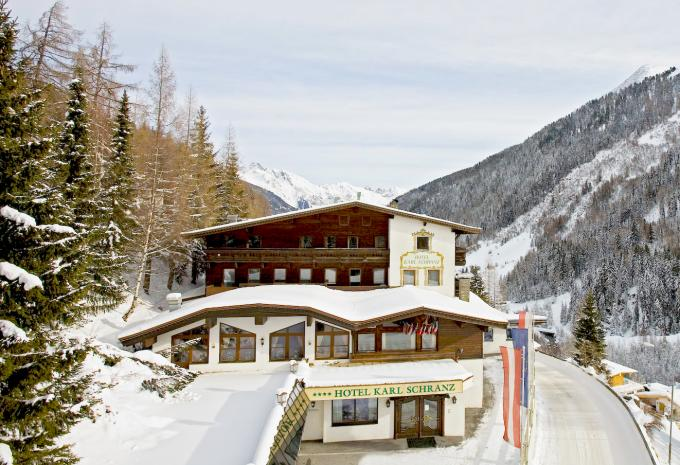 Hotel-Garni Appartements Montfort - St. Anton am Arlberg