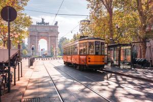 Ein Tag in Mailand