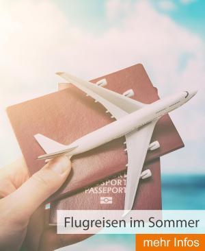Flugreisen im Sommer