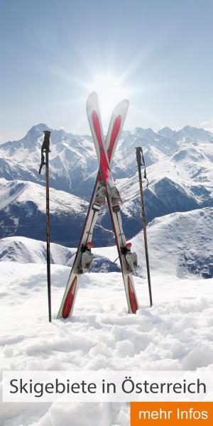 Skigebiete in Österreich