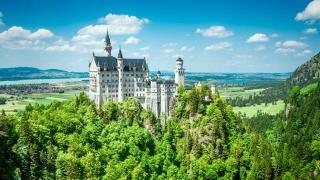 Schloss Neuschwanstein Deutschland HOFER REISEN