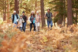 Familie Wandern Teenager HOFER REISEN