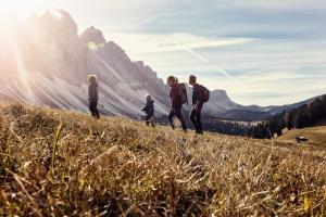Wandern mit Kindern - Familienurlaub HOFER REISEN
