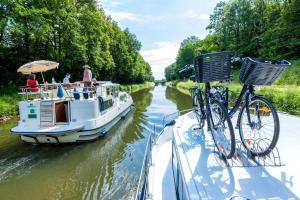 Frankreich - Burgund-Saone - Urlaub auf dem Hausboot