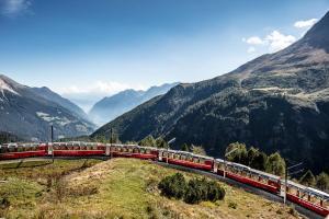 Schweiz - Zugrundreise