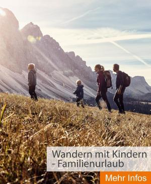 Wandern mit Kindern - Familienurlaub