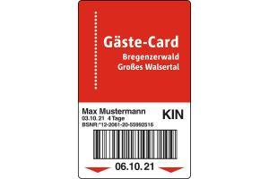 Gäste-Card Bregenzerwald & Großes Walsertal HOFER REISEN